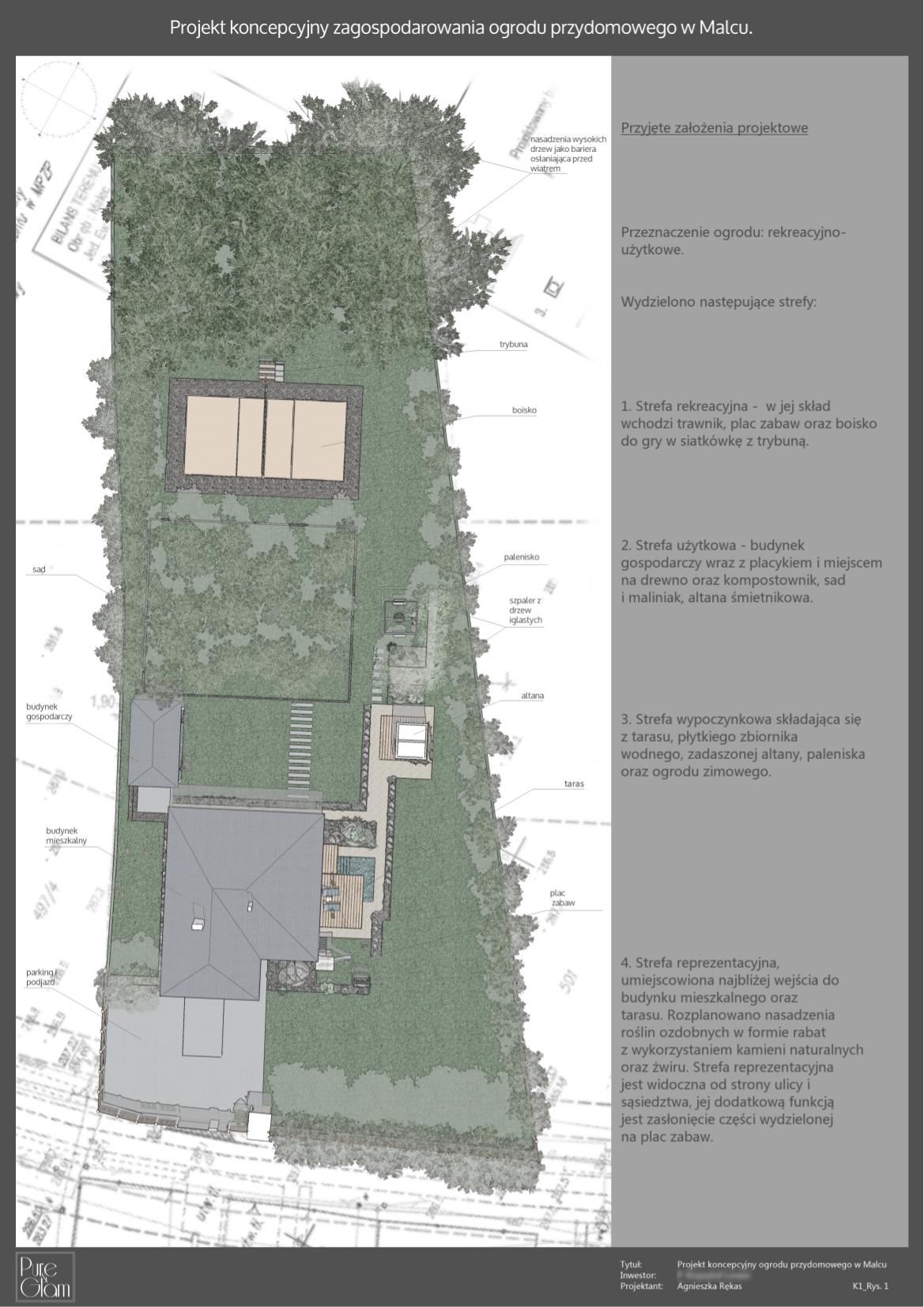 ogrod wMalcu koncepcja 1 widok zgory